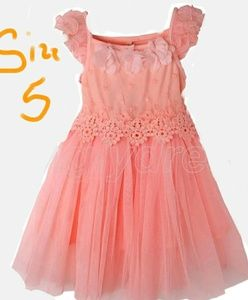 Other - NWT CORAL SZ 5 Lace Tulle Dress